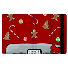 Hilarious Holidays  Apple Ipad 3/4 Flip Case by Valentinaart