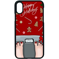 Hilarious Holidays  Apple Iphone X Seamless Case (black) by Valentinaart