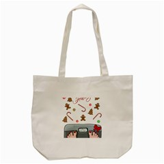 Hilarious Holidays  Tote Bag (cream) by Valentinaart