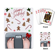 Hilarious Holidays  Playing Card by Valentinaart