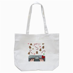 Hilarious Holidays  Tote Bag (white) by Valentinaart