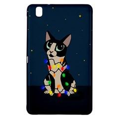 Meowy Christmas Samsung Galaxy Tab Pro 8 4 Hardshell Case by Valentinaart