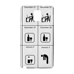 Holidays Samsung Galaxy Note 4 Hardshell Case by Valentinaart