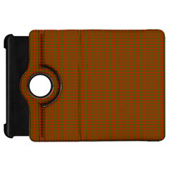 Classic Christmas Red And Green Houndstooth Check Pattern Kindle Fire Hd 7  by PodArtist