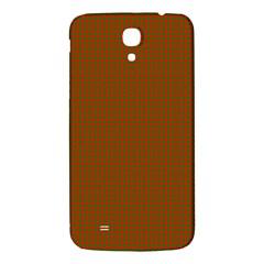Classic Christmas Red And Green Houndstooth Check Pattern Samsung Galaxy Mega I9200 Hardshell Back Case by PodArtist