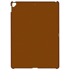 Classic Christmas Red And Green Houndstooth Check Pattern Apple Ipad Pro 12 9   Hardshell Case by PodArtist