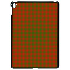 Classic Christmas Red And Green Houndstooth Check Pattern Apple Ipad Pro 9 7   Black Seamless Case by PodArtist
