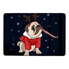 Pug Xmas Samsung Galaxy Tab Pro 10 1  Flip Case by Valentinaart