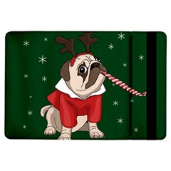 Pug Xmas Ipad Air Flip by Valentinaart