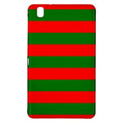 Red And Green Christmas Cabana Stripes Samsung Galaxy Tab Pro 8 4 Hardshell Case