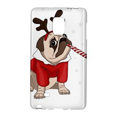 Pug Xmas Galaxy Note Edge by Valentinaart