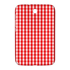 Large Christmas Red And White Gingham Check Plaid Samsung Galaxy Note 8 0 N5100 Hardshell Case  by PodArtist