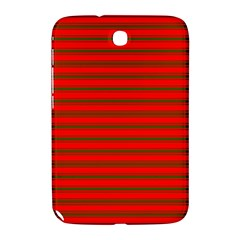 Christmas Red And Green Bedding Stripes Samsung Galaxy Note 8 0 N5100 Hardshell Case  by PodArtist