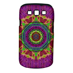 Mandala In Heavy Metal Lace And Forks Samsung Galaxy S Iii Classic Hardshell Case (pc+silicone) by pepitasart