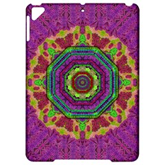Mandala In Heavy Metal Lace And Forks Apple Ipad Pro 9 7   Hardshell Case by pepitasart