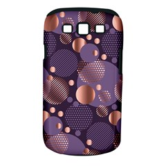 Random Polka Dots, Fun, Colorful, Pattern,xmas,happy,joy,modern,trendy,beautiful,pink,purple,metallic,glam, Samsung Galaxy S Iii Classic Hardshell Case (pc+silicone) by 8fugoso
