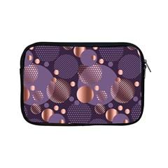 Random Polka Dots, Fun, Colorful, Pattern,xmas,happy,joy,modern,trendy,beautiful,pink,purple,metallic,glam, Apple Ipad Mini Zipper Cases by 8fugoso
