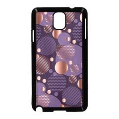 Random Polka Dots, Fun, Colorful, Pattern,xmas,happy,joy,modern,trendy,beautiful,pink,purple,metallic,glam, Samsung Galaxy Note 3 Neo Hardshell Case (black) by 8fugoso