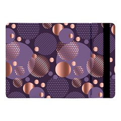 Random Polka Dots, Fun, Colorful, Pattern,xmas,happy,joy,modern,trendy,beautiful,pink,purple,metallic,glam, Apple Ipad Pro 10 5   Flip Case by 8fugoso