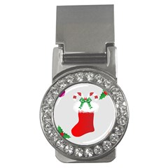 Christmas Stocking Money Clips (cz)  by christmastore