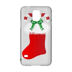 Christmas Stocking Samsung Galaxy S5 Hardshell Case  by christmastore