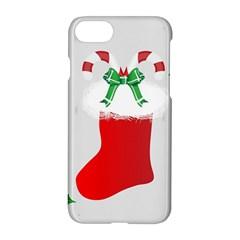 Christmas Stocking Apple Iphone 7 Hardshell Case by christmastore