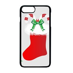 Christmas Stocking Apple Iphone 7 Plus Seamless Case (black) by christmastore