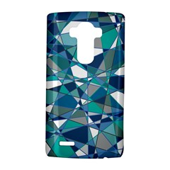 Abstract Background Blue Teal Lg G4 Hardshell Case by Celenk