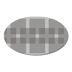 Gray Designs Transparency Square Oval Magnet by Celenk