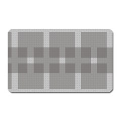Gray Designs Transparency Square Magnet (rectangular) by Celenk