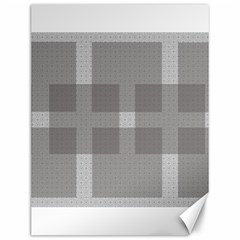 Gray Designs Transparency Square Canvas 12  X 16   by Celenk
