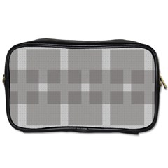 Gray Designs Transparency Square Toiletries Bags 2 Side by Celenk