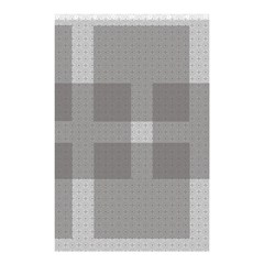 Gray Designs Transparency Square Shower Curtain 48  X 72  (small)  by Celenk