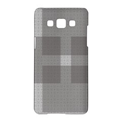 Gray Designs Transparency Square Samsung Galaxy A5 Hardshell Case  by Celenk