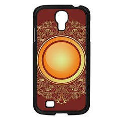 Badge Gilding Sun Red Oriental Samsung Galaxy S4 I9500/ I9505 Case (black) by Celenk