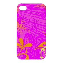 Spring Tropical Floral Palm Bird Apple Iphone 4/4s Premium Hardshell Case by Celenk