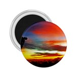 Sunset Mountain Indonesia Adventure 2.25  Magnets