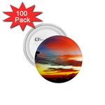 Sunset Mountain Indonesia Adventure 1.75  Buttons (100 pack)