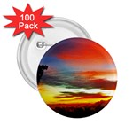 Sunset Mountain Indonesia Adventure 2.25  Buttons (100 pack)