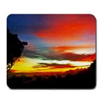 Sunset Mountain Indonesia Adventure Large Mousepads