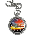 Sunset Mountain Indonesia Adventure Key Chain Watches