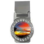 Sunset Mountain Indonesia Adventure Money Clips (CZ)