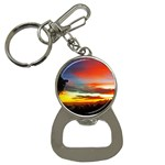Sunset Mountain Indonesia Adventure Button Necklaces