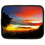 Sunset Mountain Indonesia Adventure Netbook Case (Large)