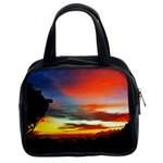 Sunset Mountain Indonesia Adventure Classic Handbags (2 Sides)