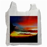 Sunset Mountain Indonesia Adventure Recycle Bag (Two Side)