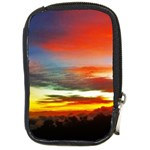 Sunset Mountain Indonesia Adventure Compact Camera Cases