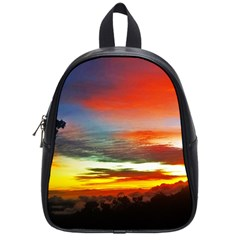 Sunset Mountain Indonesia Adventure School Bag (small) by Celenk