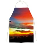 Sunset Mountain Indonesia Adventure Full Print Aprons