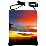 Sunset Mountain Indonesia Adventure Shoulder Sling Bags